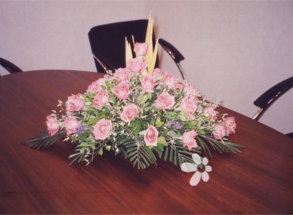 会议桌花2