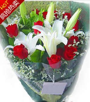 上海网上订花-一世的幸福