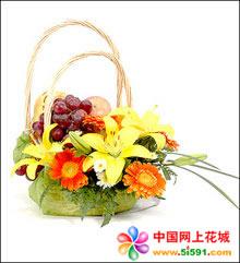 三门峡网上订果篮鲜花