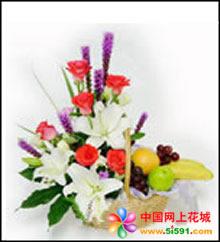 伊宁网上订果篮鲜花