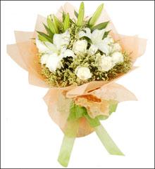 丽水网上订花-白色恋人