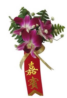 厦门鲜花:石斛兰胸花