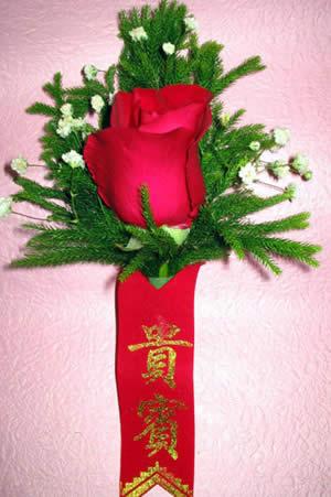 玫瑰胸花4