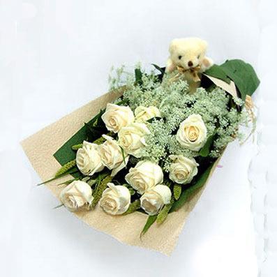 深圳鲜花:淡淡花香