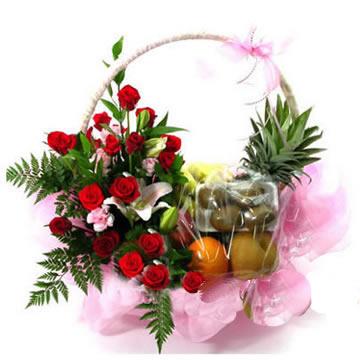 开平网上订果篮鲜花