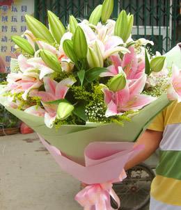 揚州廣陵區網上訂情人鮮花