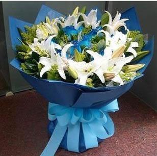 上海送花-蓝色的梦