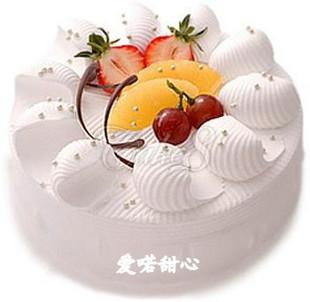 贵阳生日蛋糕:爱喏甜心
