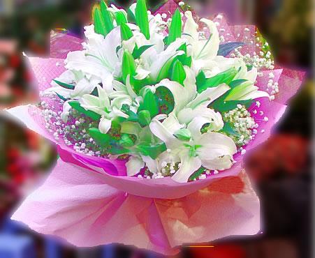 丽水鲜花:百年好合