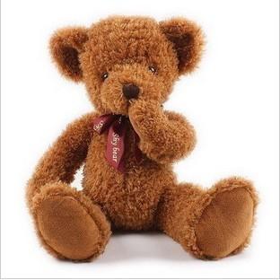 毛绒玩具熊-欢欢熊
