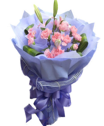 丽水鲜花:一生安康