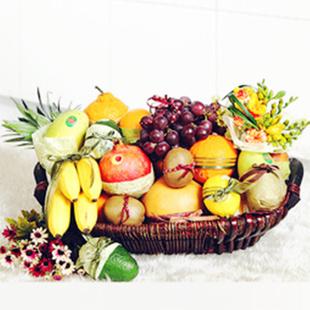 丽水水果篮:香甜淡雅