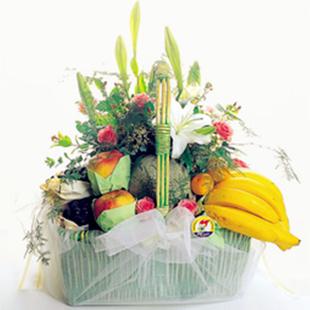 南充网上订果篮鲜花