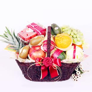 福州网上订果篮鲜花