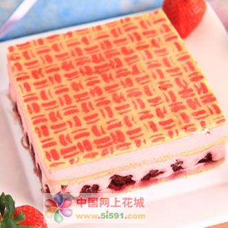 锦州生日蛋糕:草莓慕斯