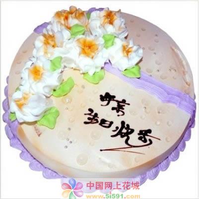 广州生日蛋糕:妈妈的吻