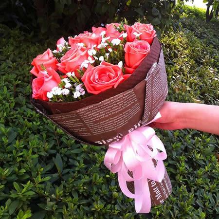 哈尔滨网上订情人鲜花