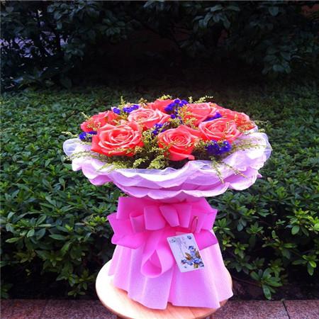 武漢網上訂情人鮮花