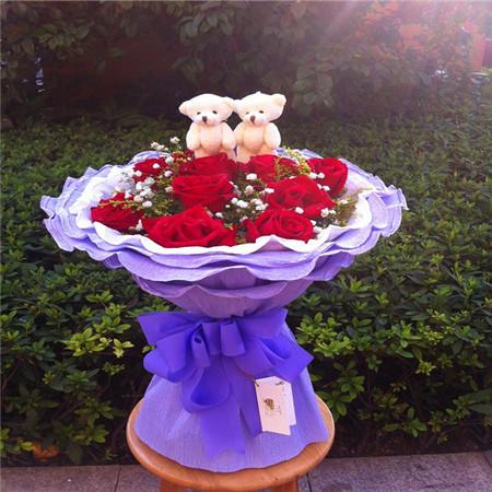 江门网上订情人鲜花