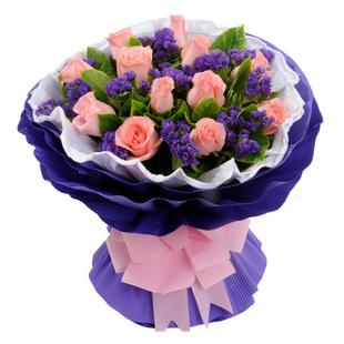粉玫瑰-就是爱你