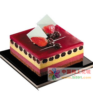 厦门生日蛋糕:温柔如你
