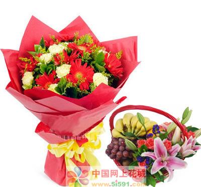 中山鲜花:烛光下的祝福