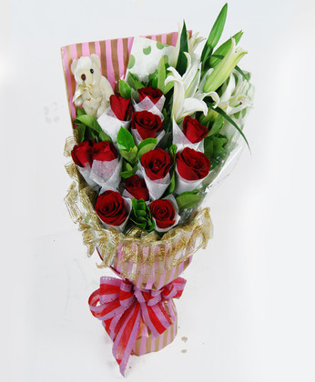石首網上訂情人鮮花