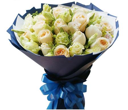 厦门鲜花:香槟丽人