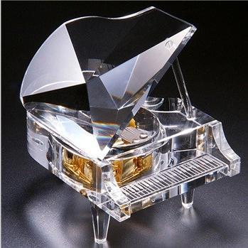 十八音水晶钢琴音乐盒