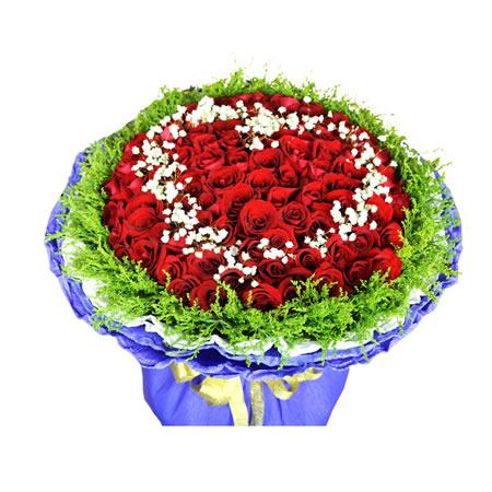 广州鲜花:自由之恋