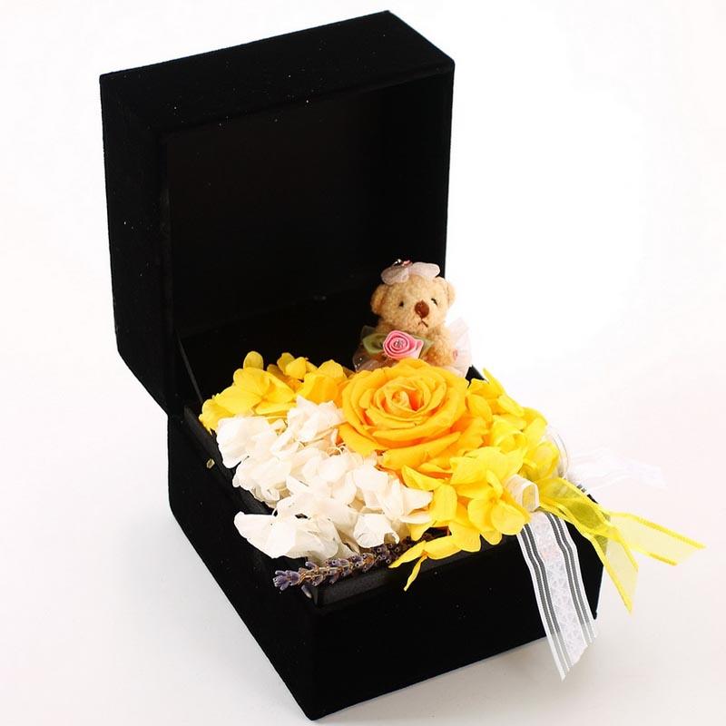 保鲜花-玫瑰小熊B款