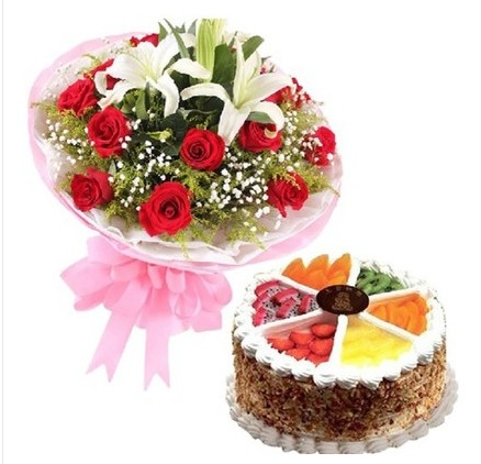 爱思鲜花:生日快乐