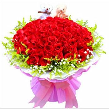 济南鲜花:长久爱