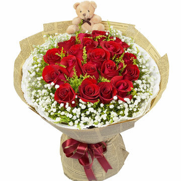 大连网上订情人鲜花