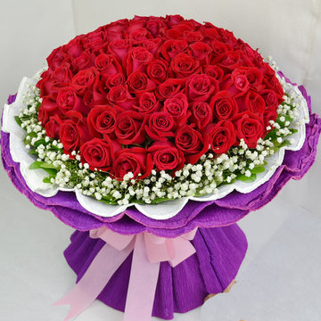 丽水鲜花:爱情花开