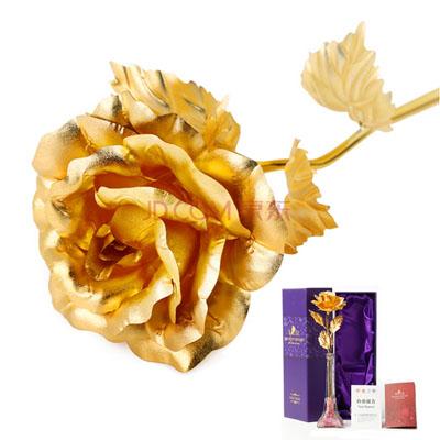 金箔玫瑰埃菲尔瓶