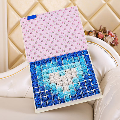 深圳肥皂花:肥皂花-心形蓝色