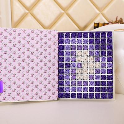 深圳肥皂花:肥皂花-心形紫色