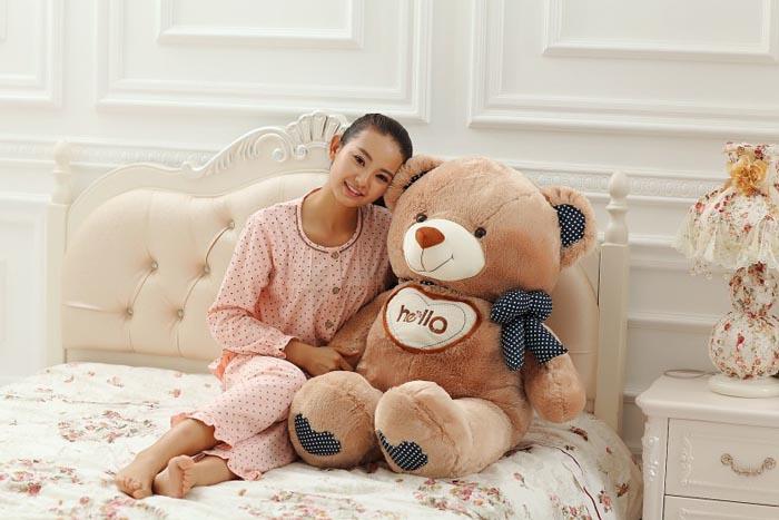 毛绒玩具-HELLO泰迪熊