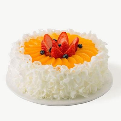济南生日蛋糕:好利来-蜜桃轻舞