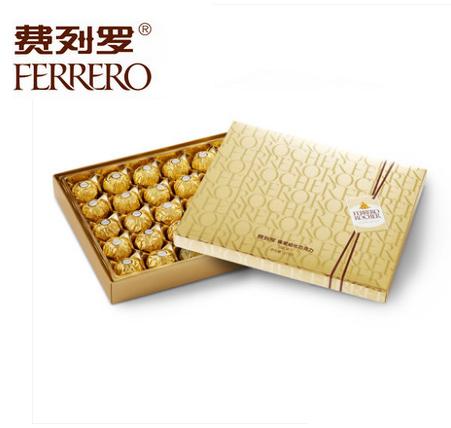 �M列�_榛果威化巧克力�Y盒