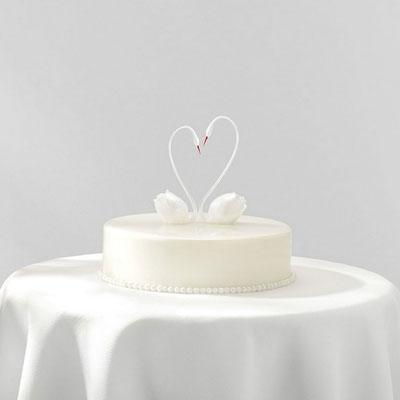 丽水生日蛋糕:黑天鹅 圣洁