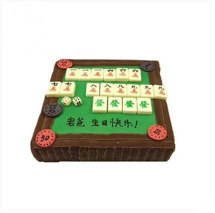 上海生日蛋糕:人旺财旺