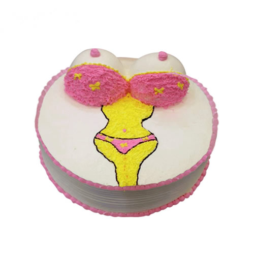 中山生日蛋糕:摩登女郎