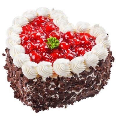 心型水果蛋糕
