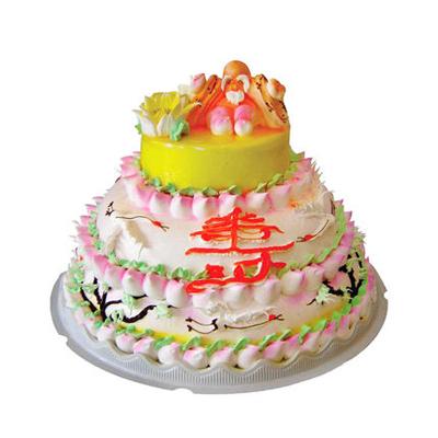 乌鲁木齐生日蛋糕:多层祝寿