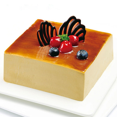 上海生日蛋糕:咖啡慕斯