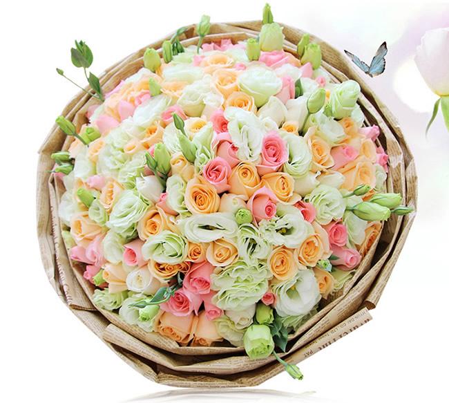 济南鲜花:祝福不变