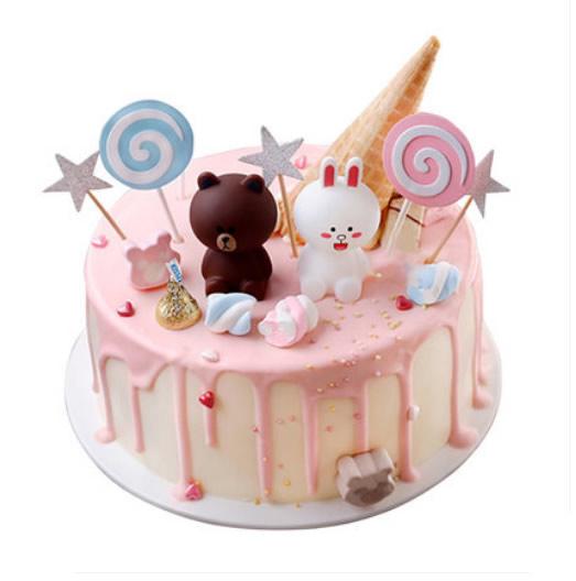 布朗熊蛋糕