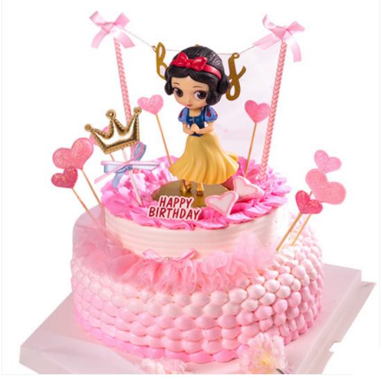 网红蛋糕白雪公主A款